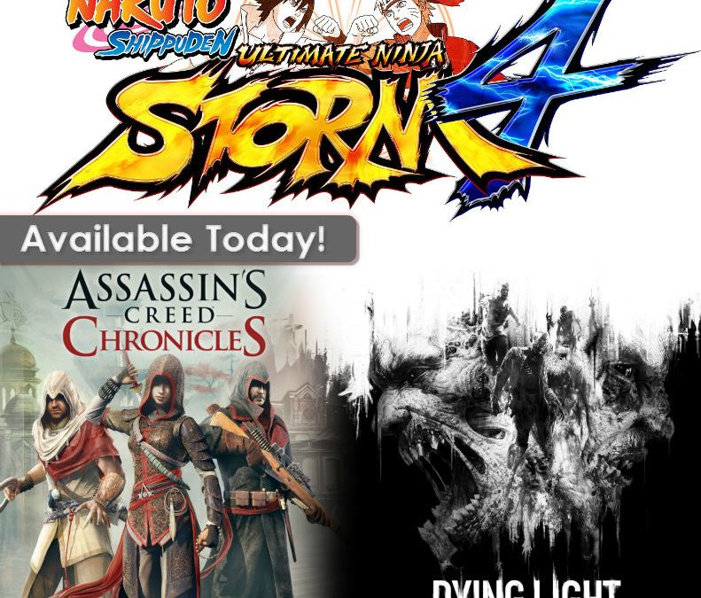 New Releases for Today February 9th!