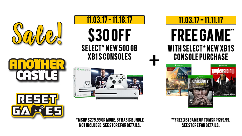 Save on Select Xbox One S Consoles Today!