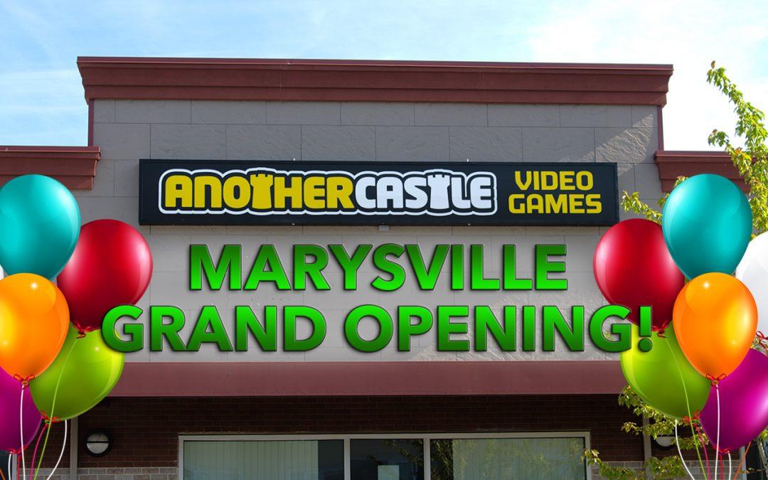 Marysville location now open!