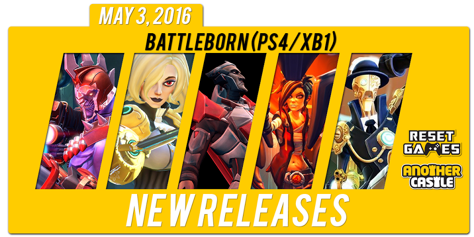 New Release for Today, May 3rd, 2016!
