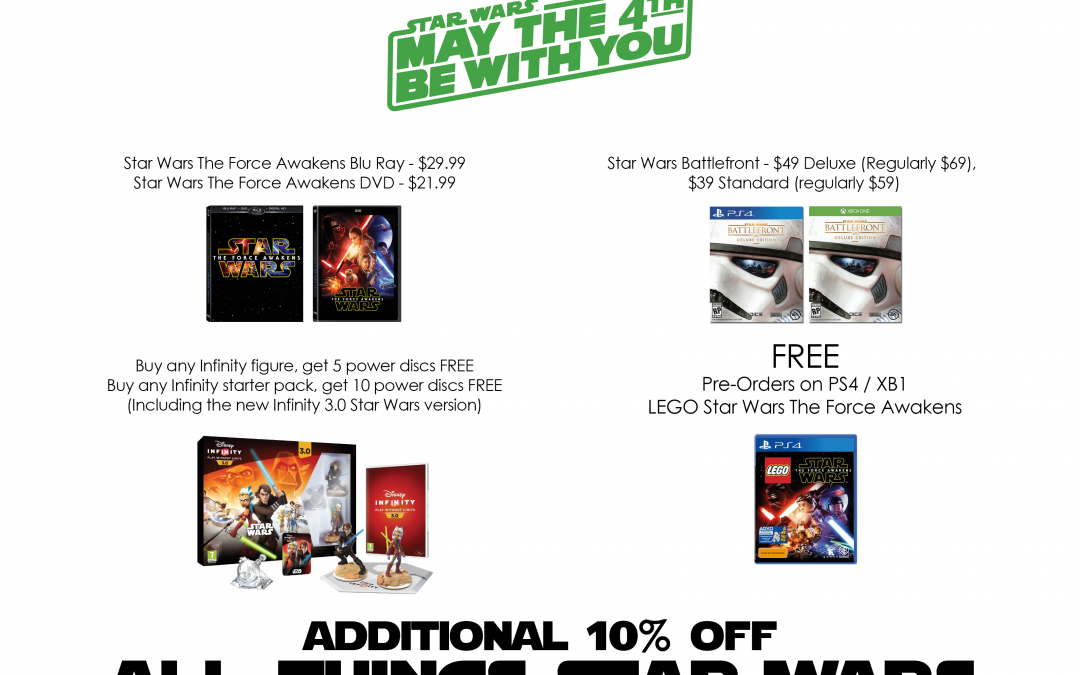 Star Wars Sale!