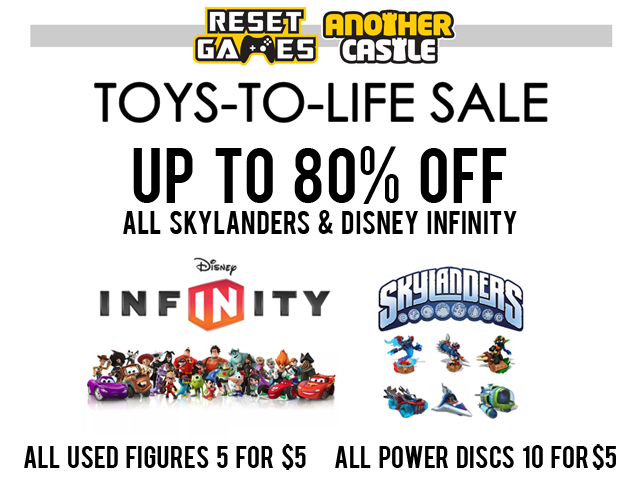 Massive Toys-to-Life Sale!