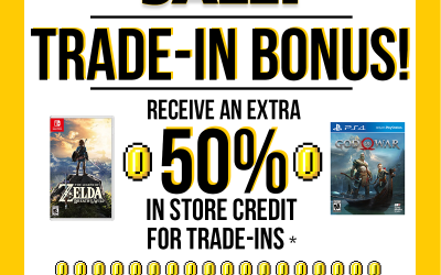 Trade-In Bonus Time!