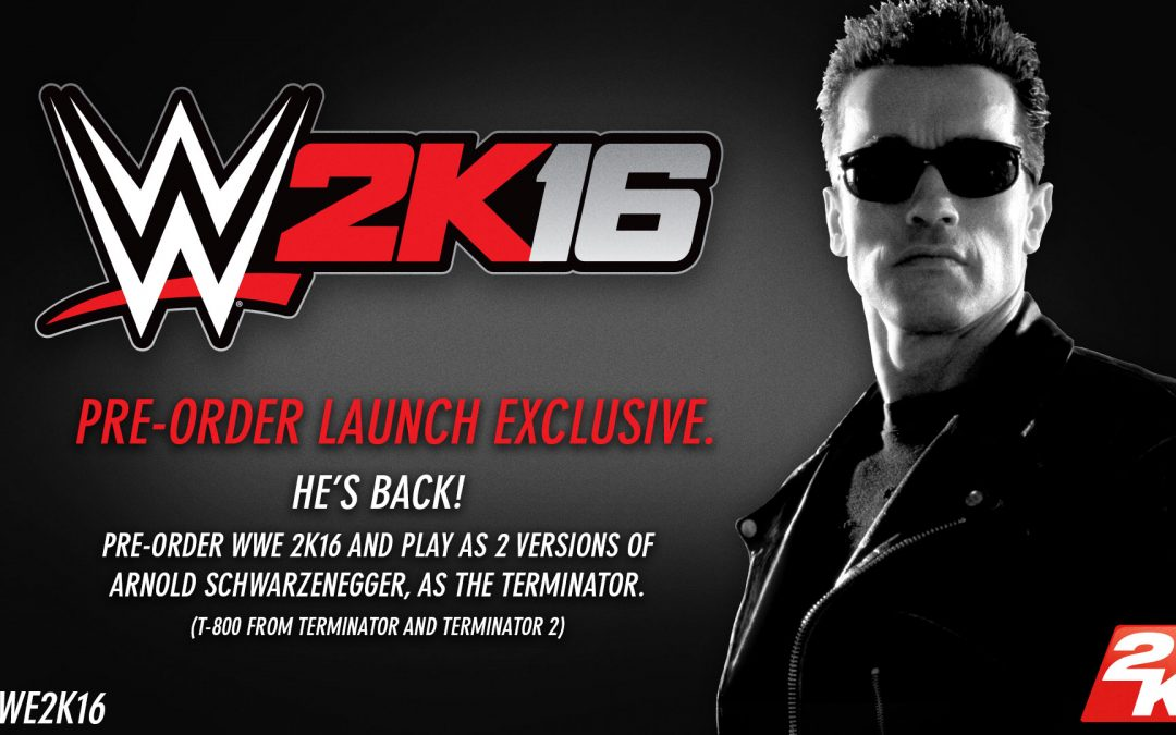 WWE 2K16 Pre-Order Bonus!