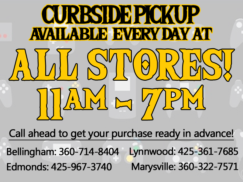 All stores now open for curbside service!