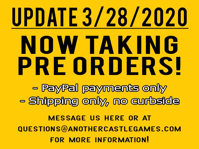 Now taking pre orders!