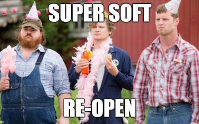 Bellingham Super Soft Re-Open 9/14/21